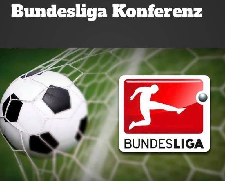 Bundesliga Konferenz vu e Samschdeg un Live an der Buvette no de Covid Regelen