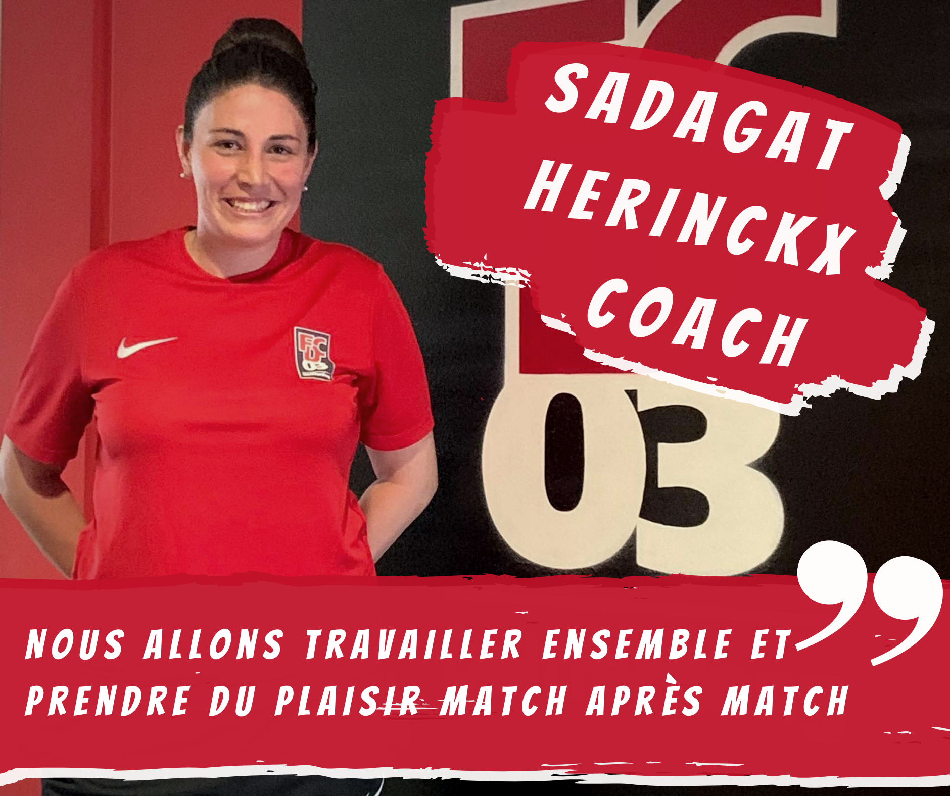INTERVIEW AVEC LA COACH DES DAMES