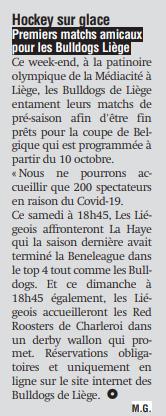 La Meuse de ce 19 septembre 2020