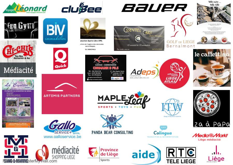 Merci à nos sponsors et partenaires