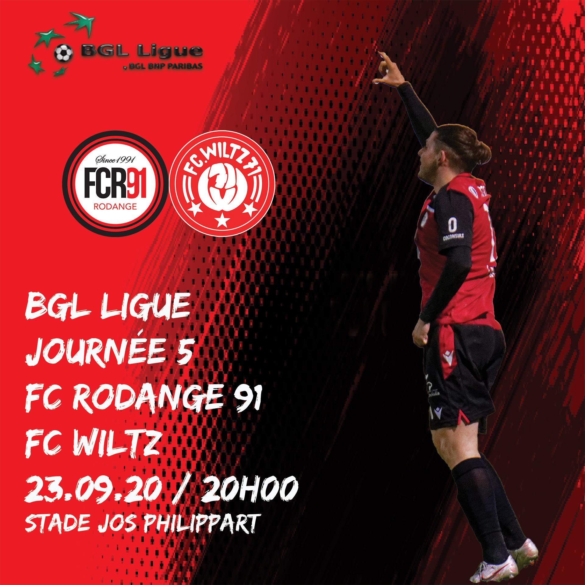 FC Rodange 91 - FC Wiltz 32