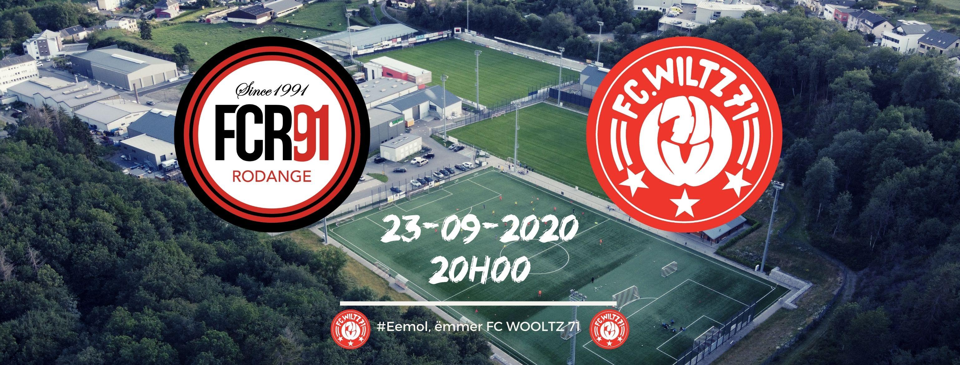 Matchday 5: FCR91 vs FC WILTZ 71
