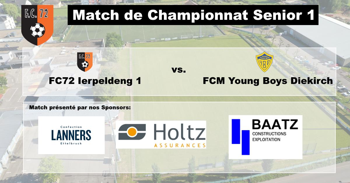 Haut den Owend - lokal Derby géint FCM Young Boys Diekirch
