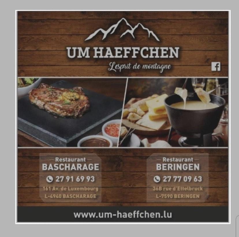 Sponsoring Restaurant UM HAEFFCHEN