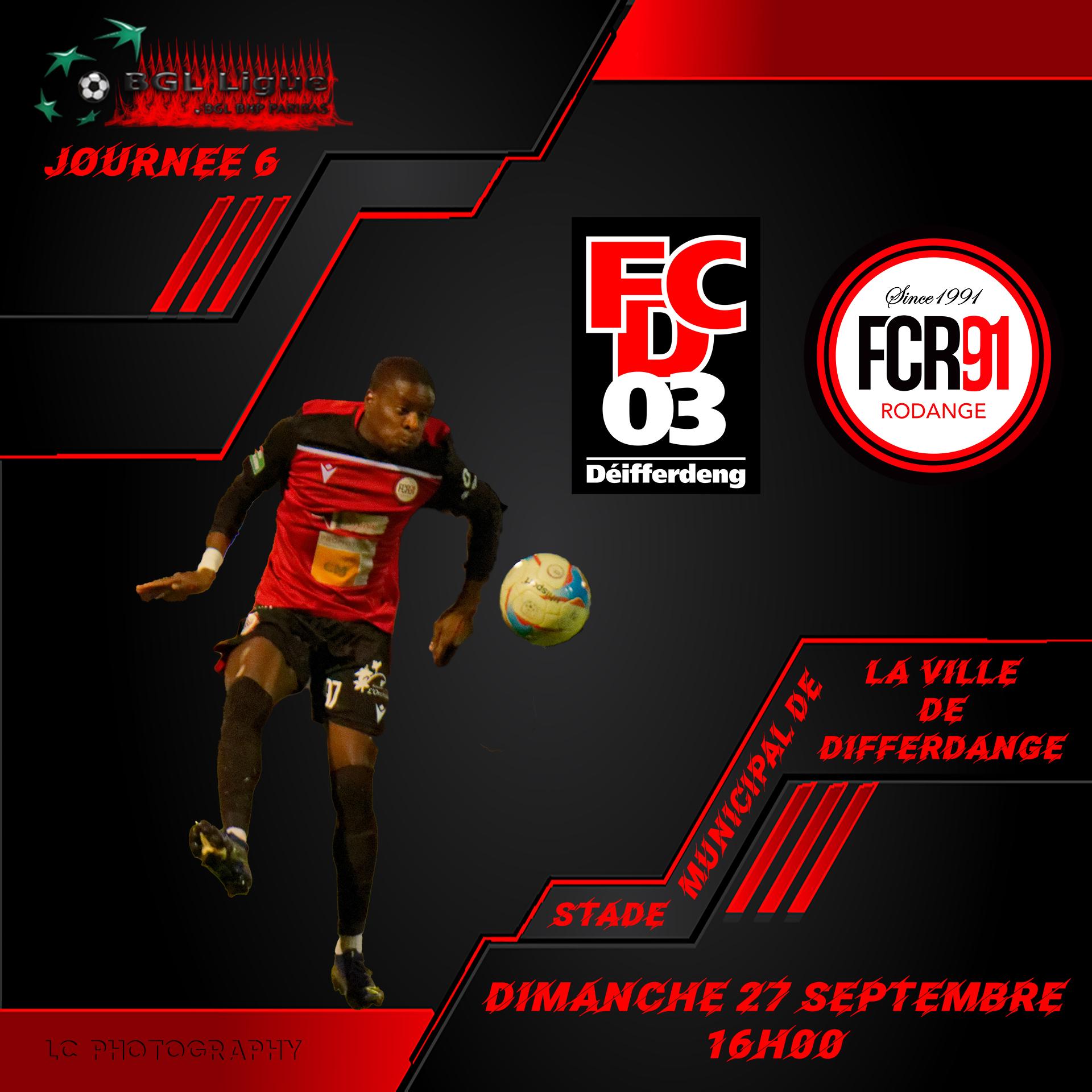 FC Differdange 03 - FC Rodange 91