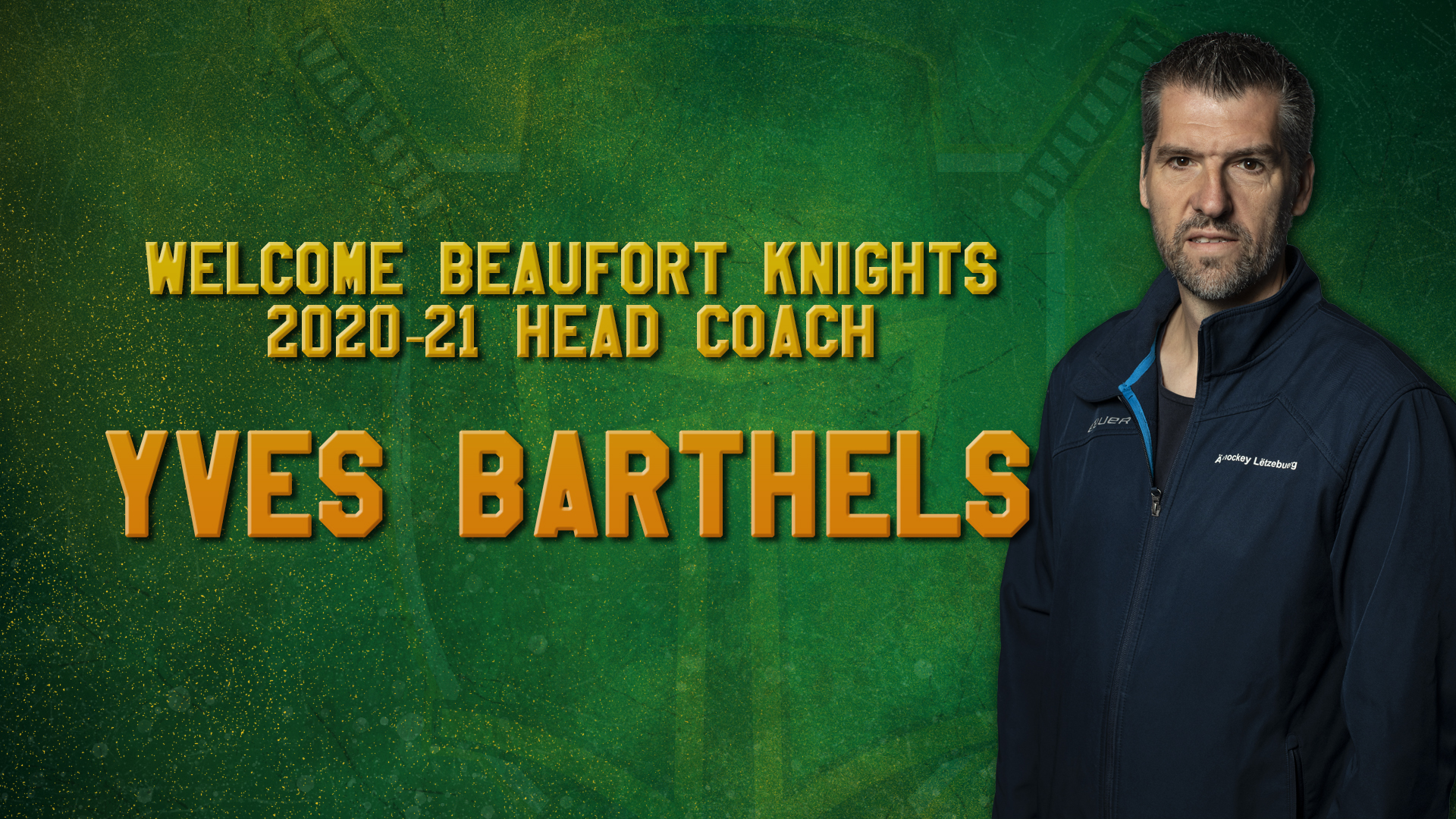 Yves Barthels joins the Knights as 1st team head coach