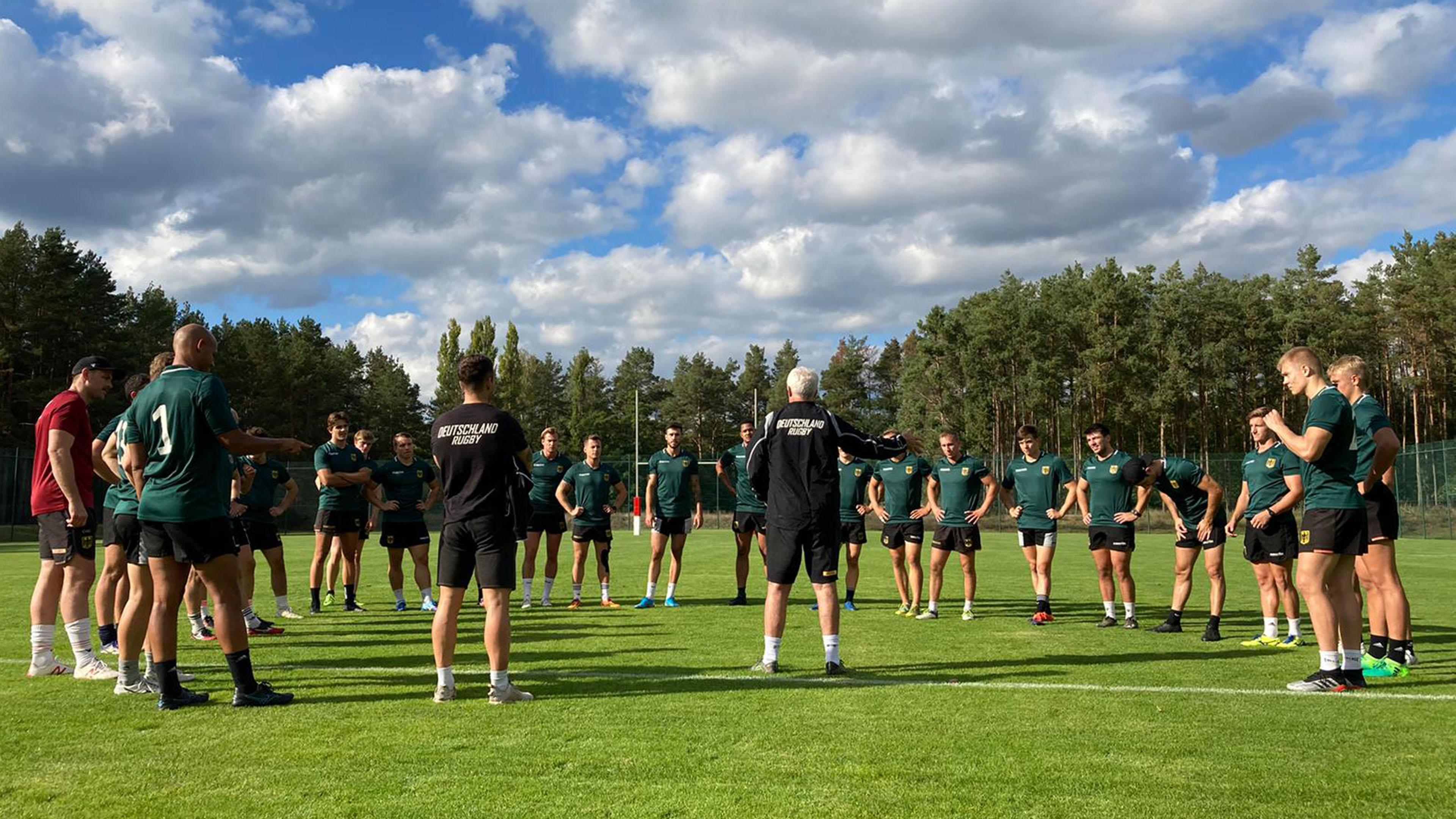 Deutschlands beste 7er-Rugbyspieler testen am Wochenende bei Hannover 78