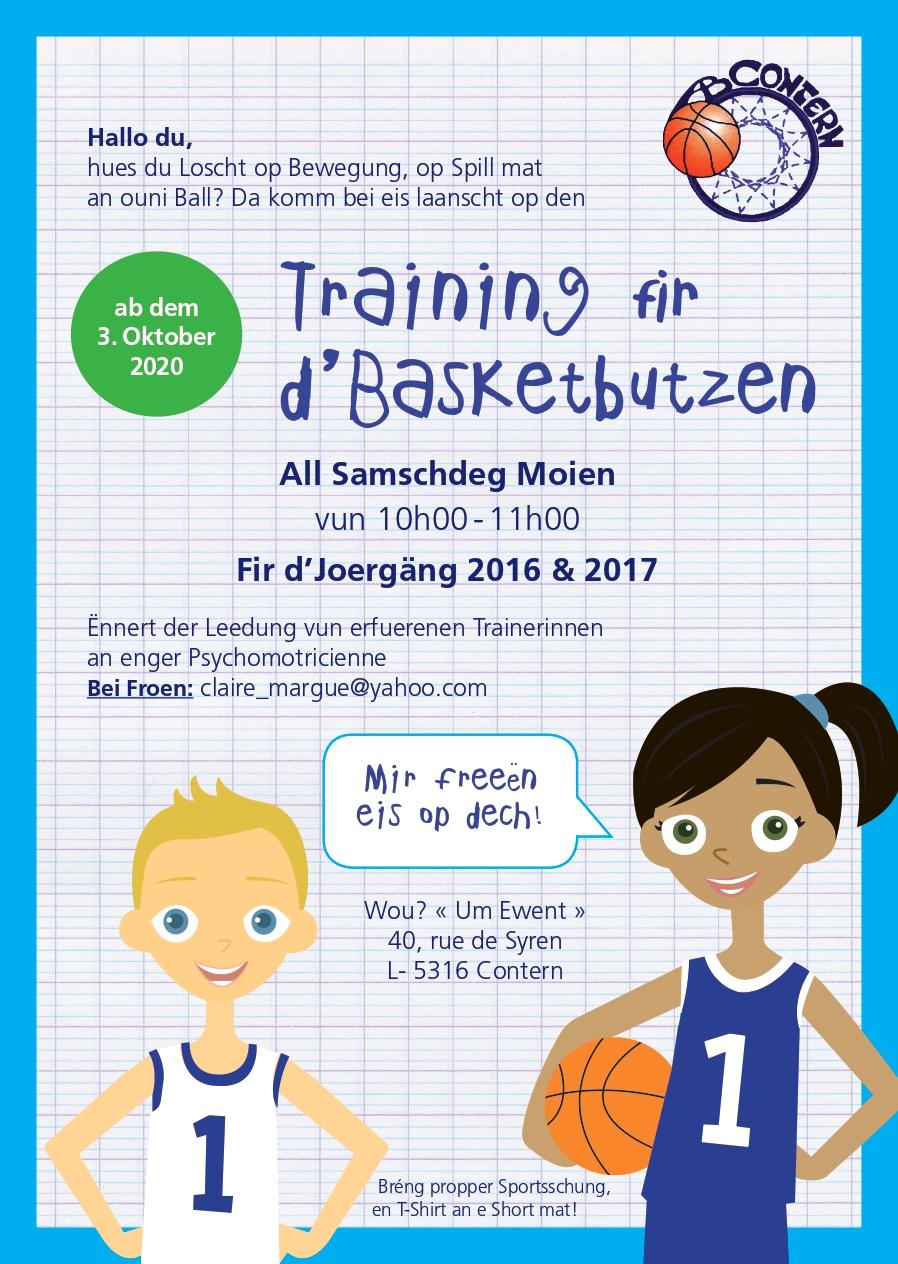 Basketsbutzen  AB Contern