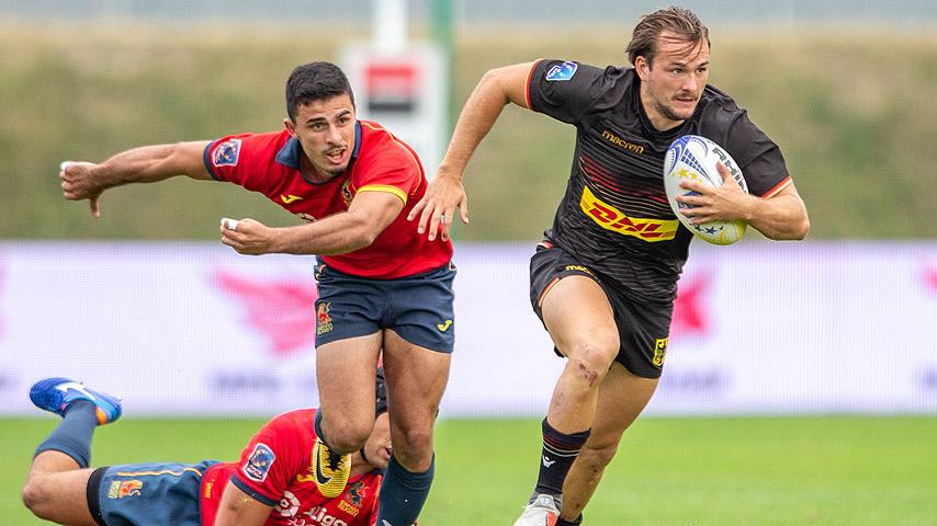 Wolfpack trainiert mit und spielt gegen Spanien