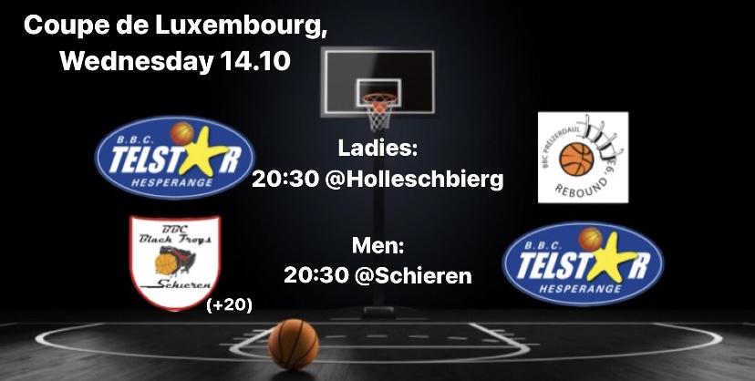Coupe de Luxembourg éischten Tour