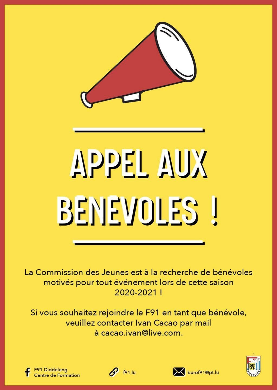 Centre de Formation - Appel aux bénévoles !