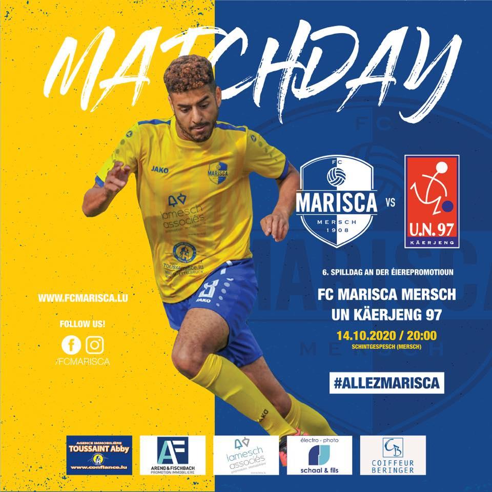 FC Marisca - UN Käerjeng 97