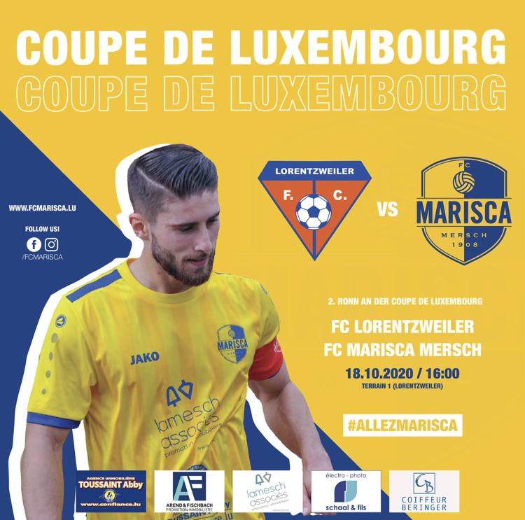Coupe de Luxembourg - 2ten Tour