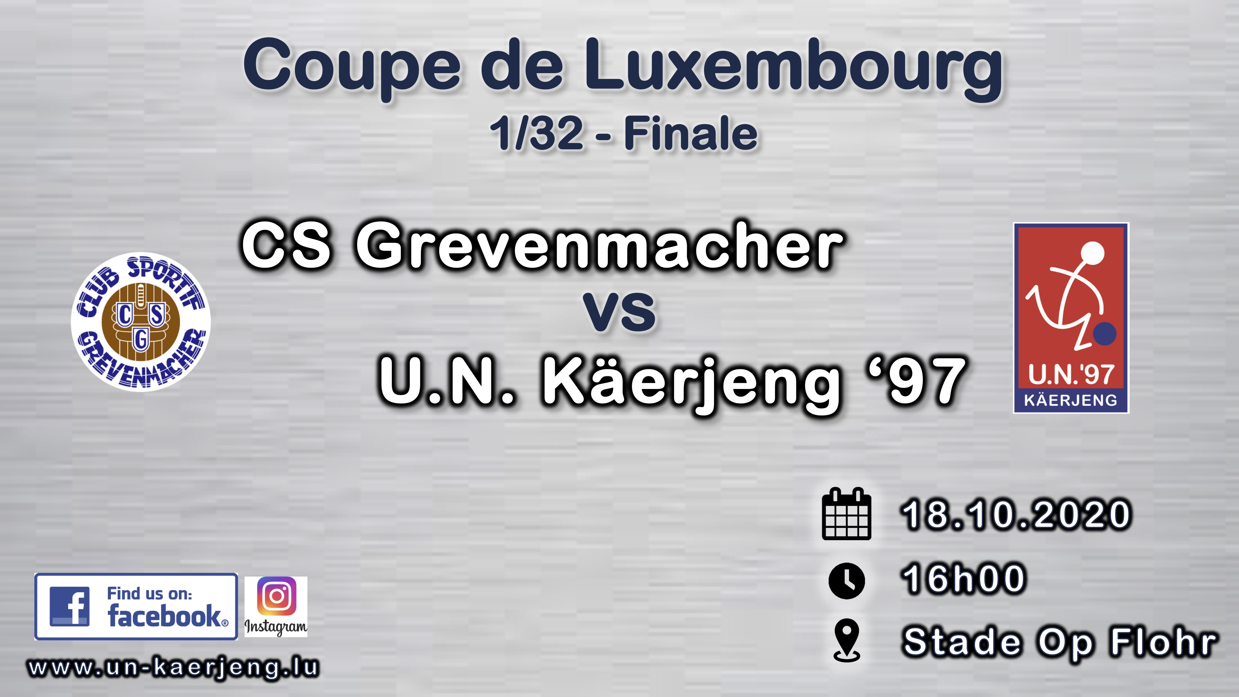 *** Coupe de Luxembourg ***