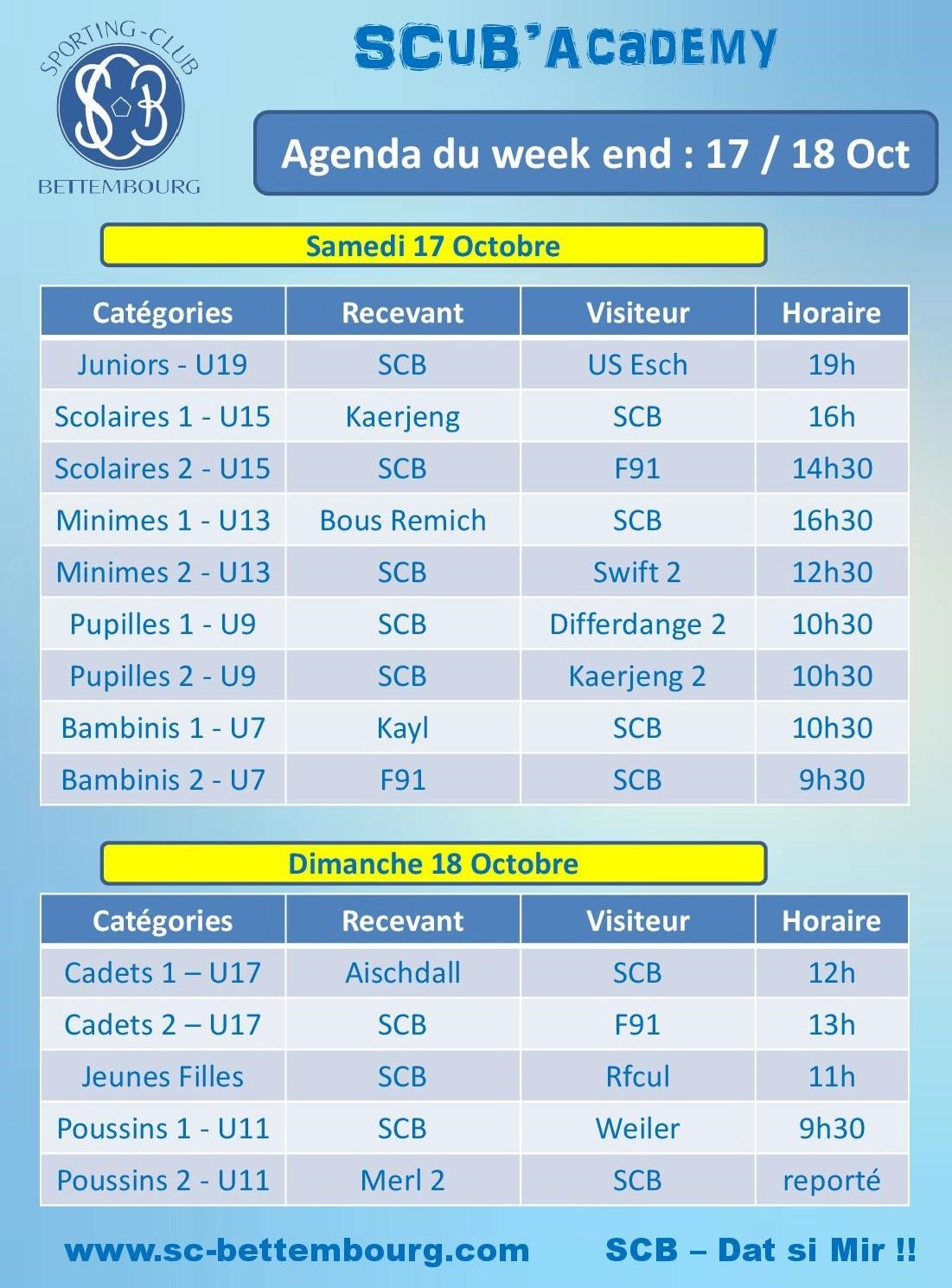 SCuB'Academy Info