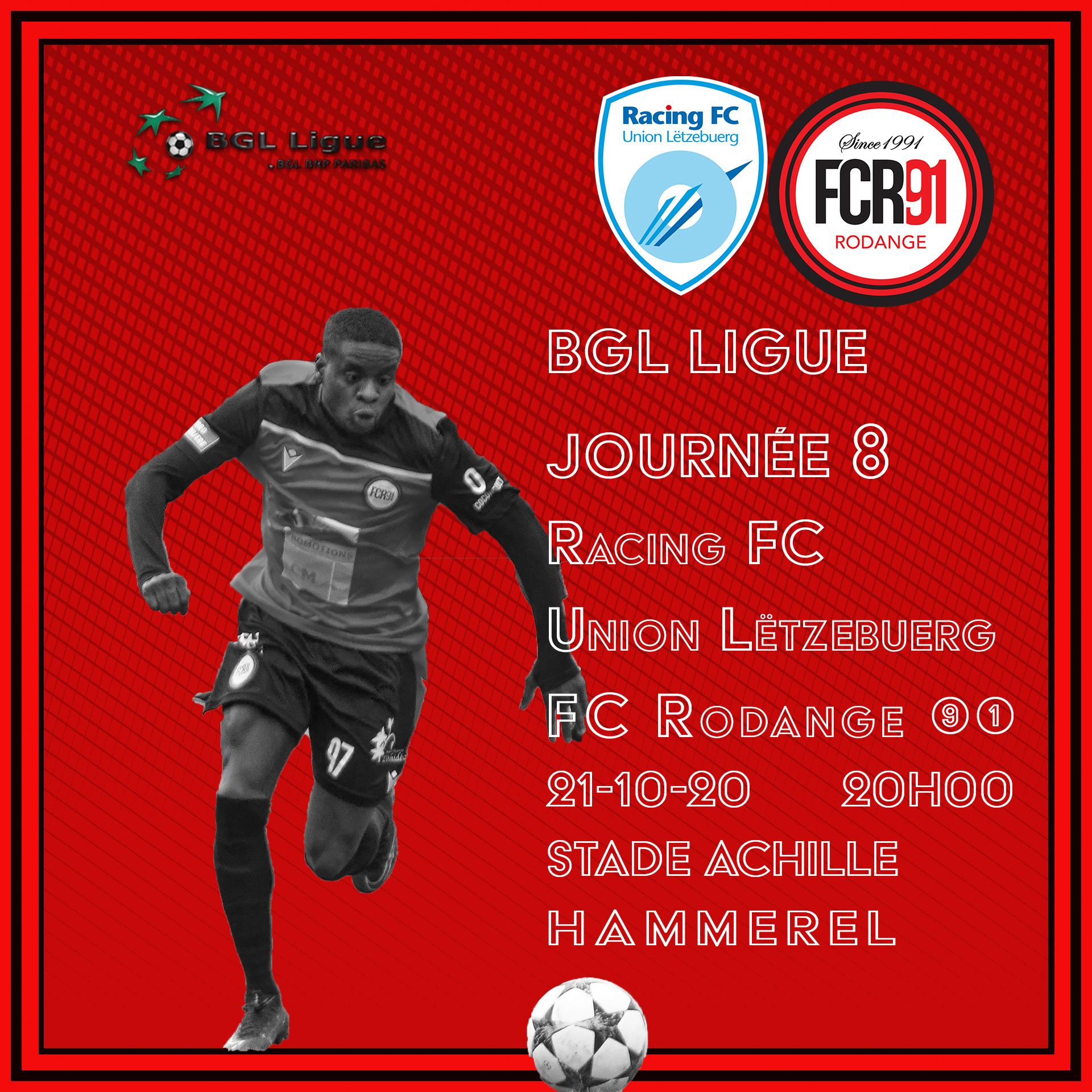 RFCUL - FC Rodange 91