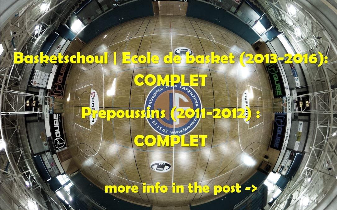 NEWS for Basketschoul & Prepoussins