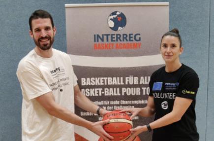 Interreg Basket Academy: Nadia succeeds Frank