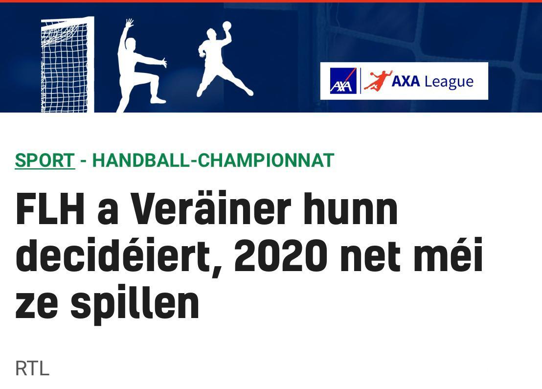 Viraussiichtlech ab Januar 2021 nees Matcher!
