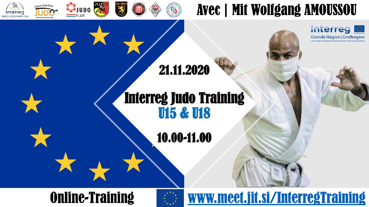 Interreg Judo Online Training U15 & U18 - 21.11.2020