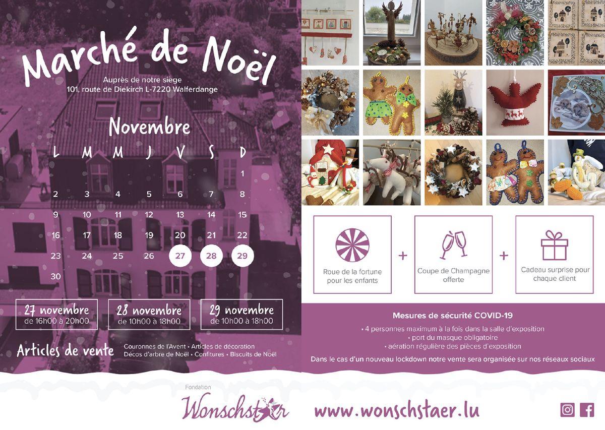 Marché de Noël @ WONSCHSTÄR