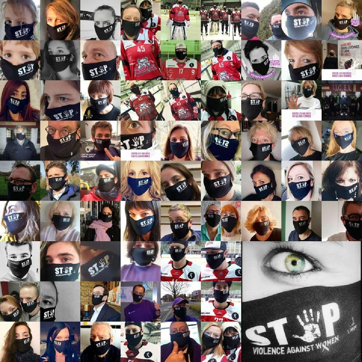 Les Bulldogs de Liège disent #STOP aux violences faites aux femmes