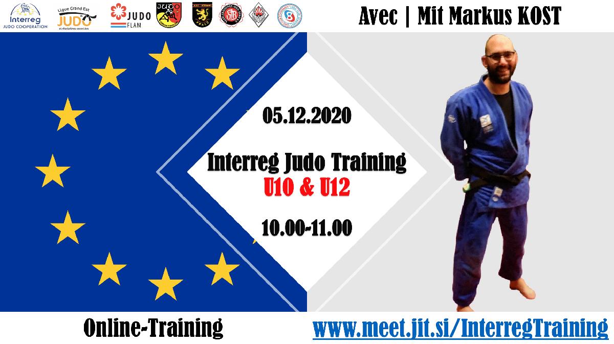 Interreg Judo Online Training U10 & U12 - 05.12.2020