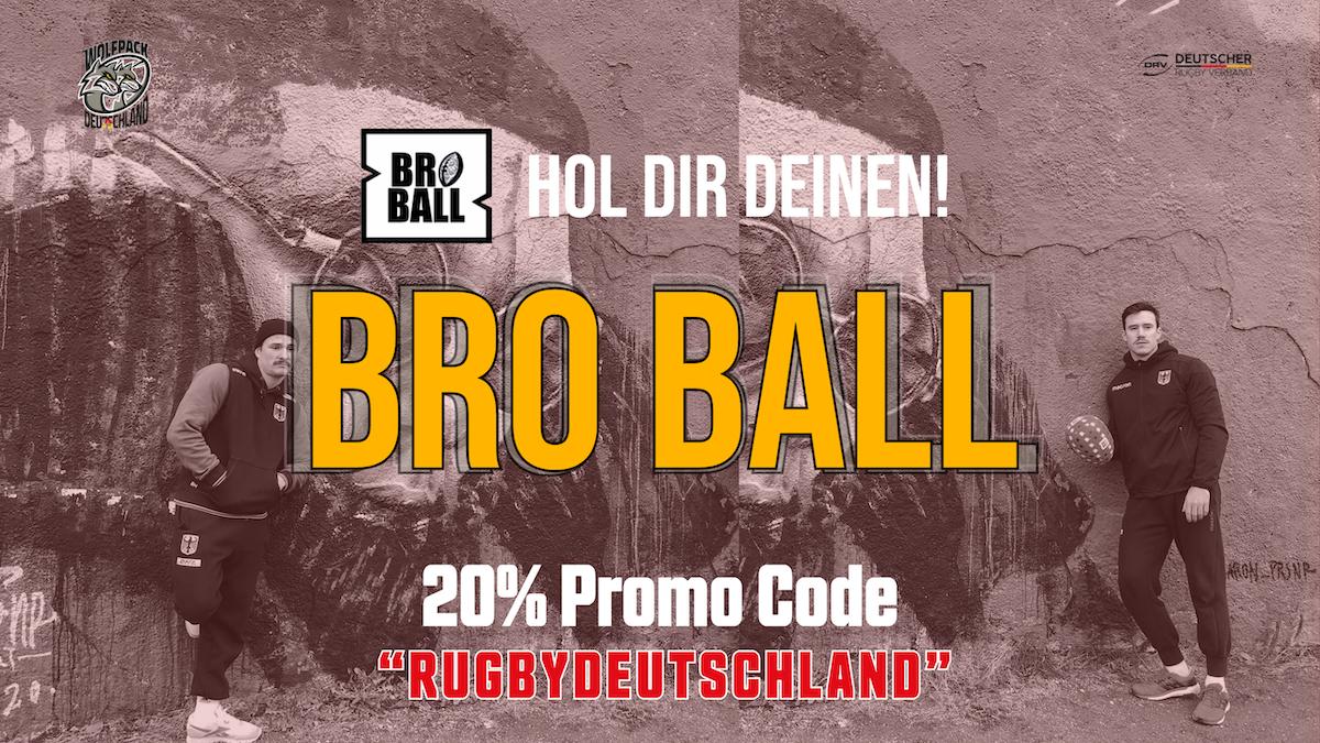 Hol Dir Deinen Bro Ball!