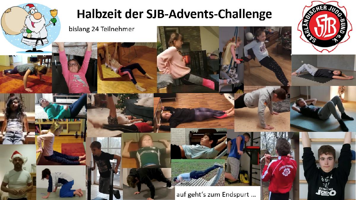 Judoka machen begeistert bei Advents-Challenge mit