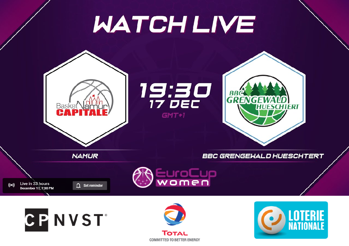 Eurocup match - Live Stream