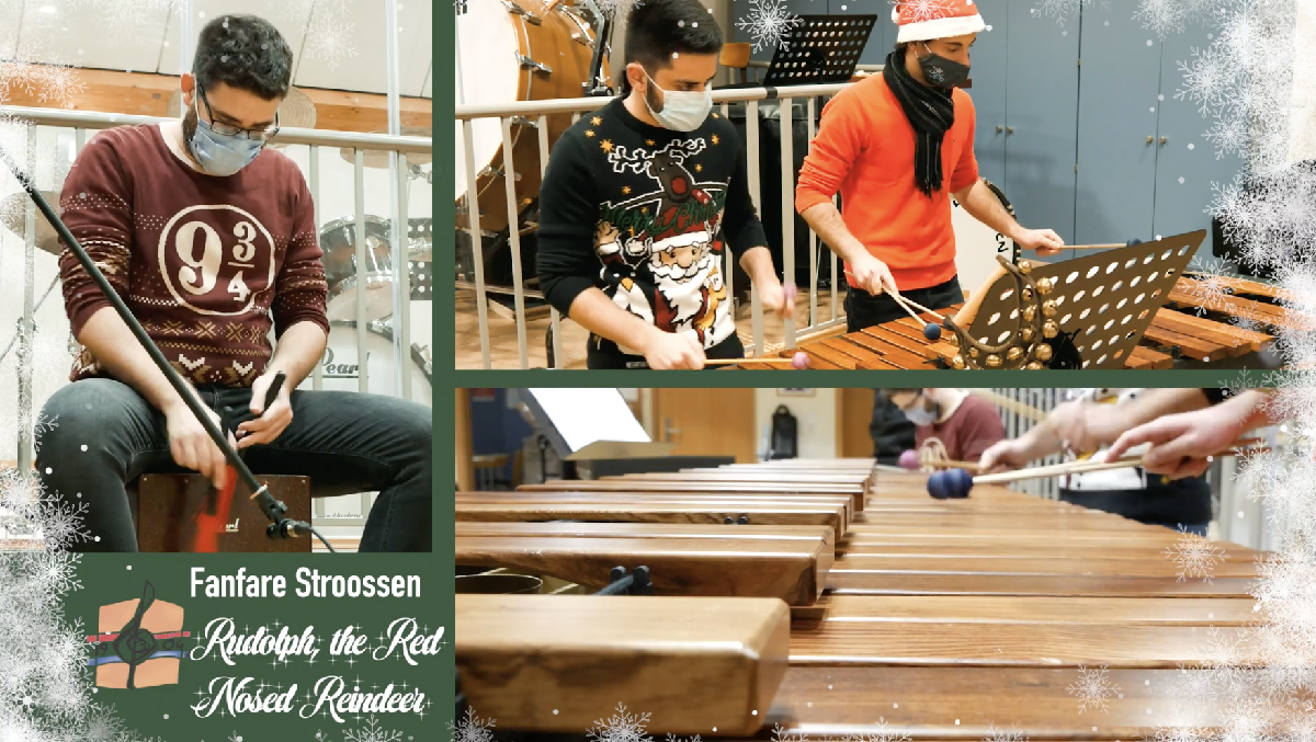 Fanfare Stroossen goes X-Mas: Rudolph, the red-nosed reindeer