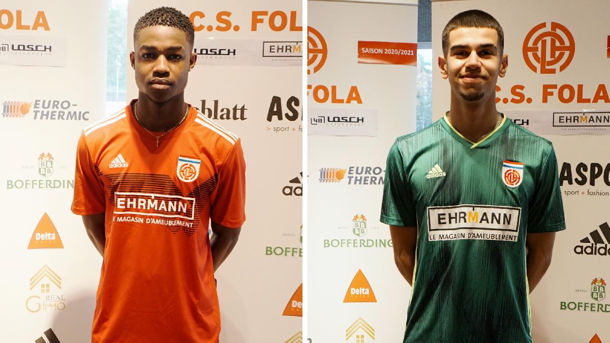Lenny Almada Correia et Daniel Martins Matos ont signé un contract de 3 ans