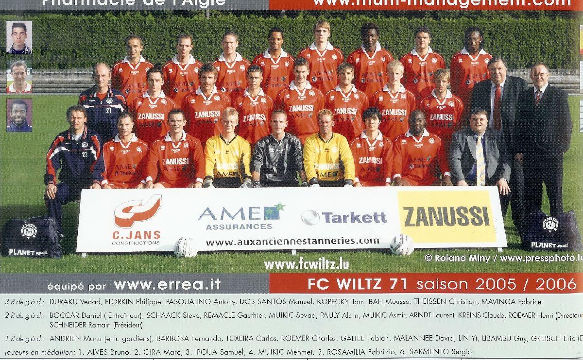 2005-2006: Die Titelgruppe knapp verfehlt