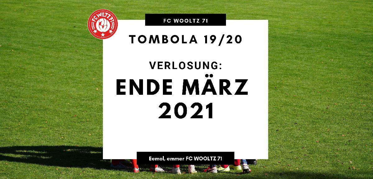 Grouss Tombola vom FC WOOLTZ 71: UPDATE