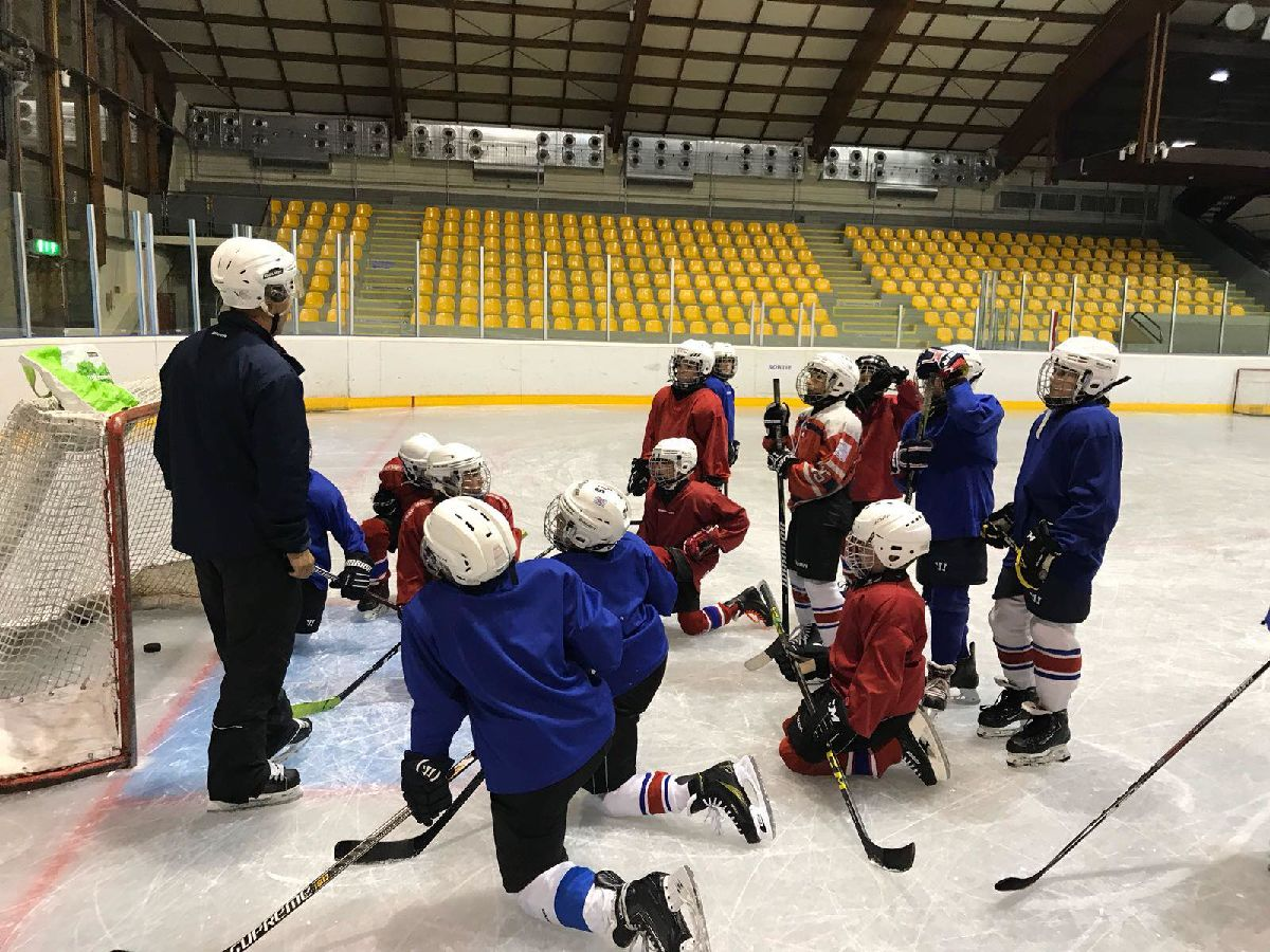 Huskies junior ice hockey training has restarted