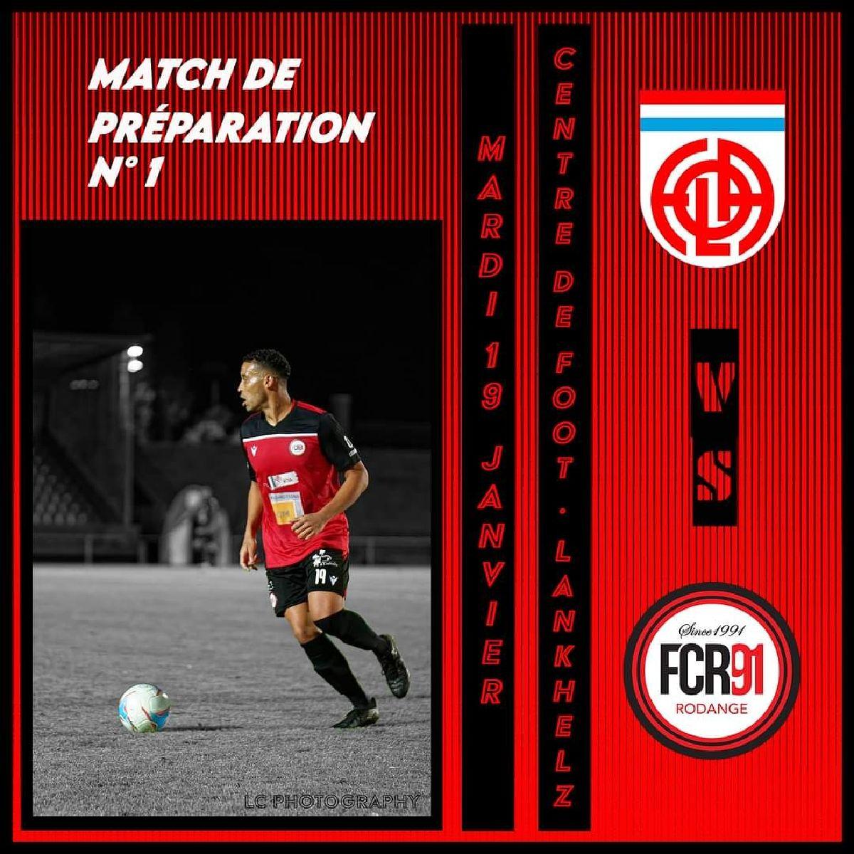 Match de préparation 1