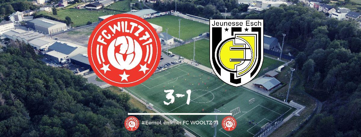 2. Freundschaftsspiel: 3-1 Sieg gegen die Jeunesse Esch