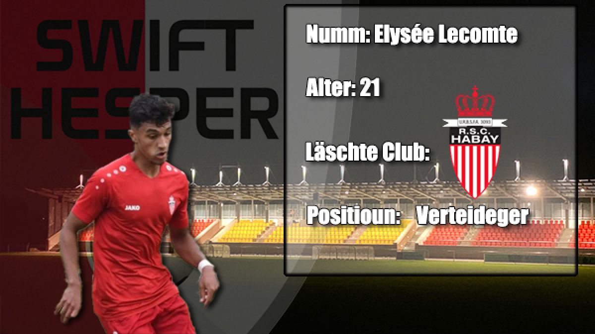 Transfer: Elysée Lecomte
