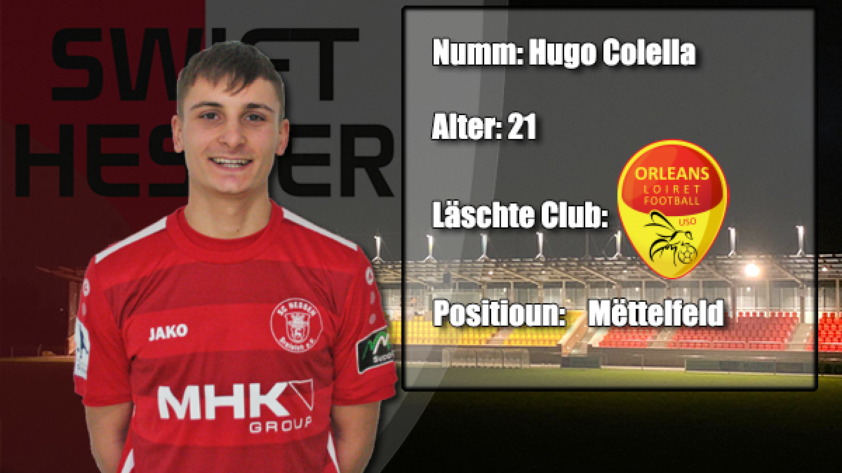 Transfer: Hugo Colella