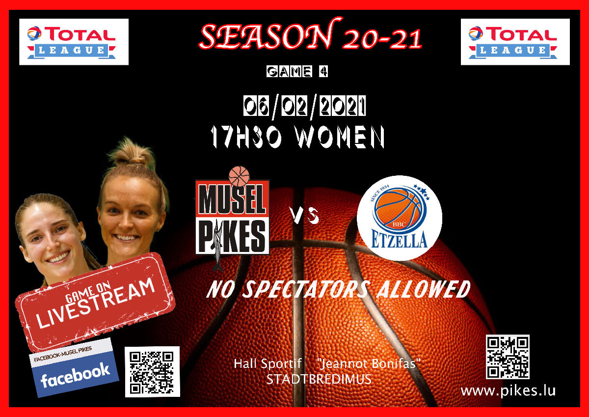 replay of game 4 (women) Pikes-Etzella (when the lights went out)
