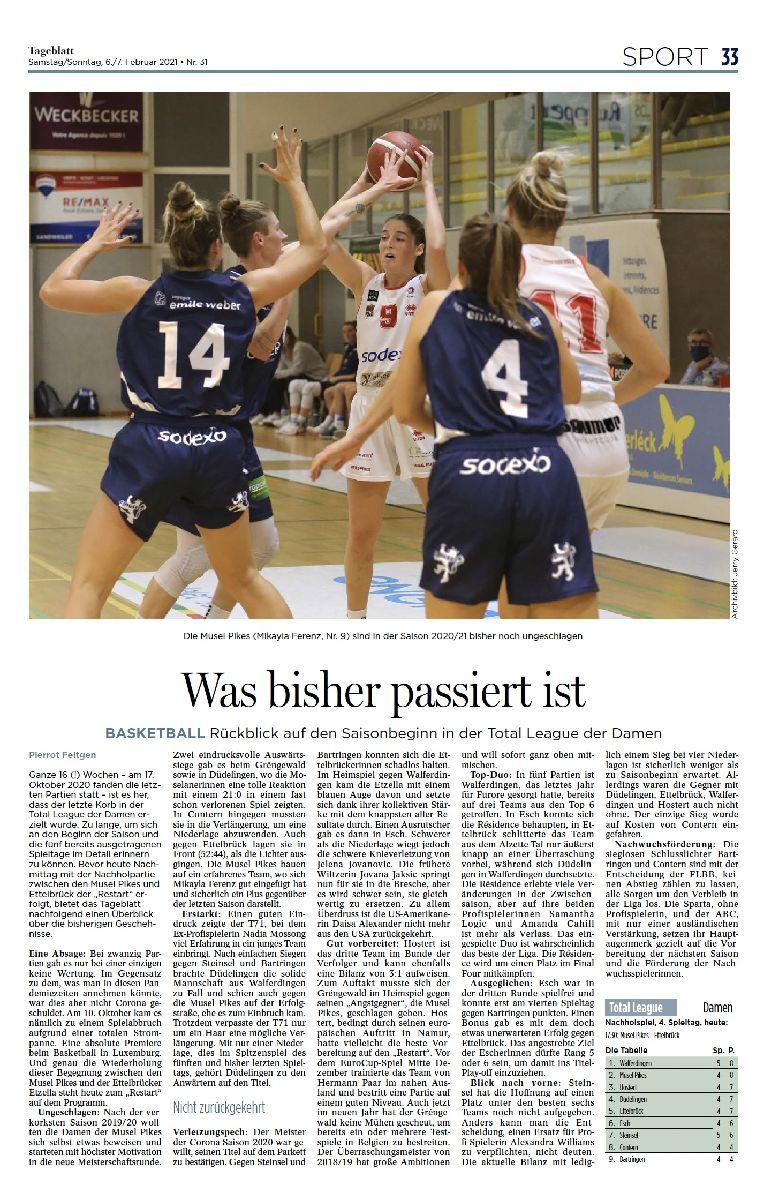 Tageblatt 06/02/2021