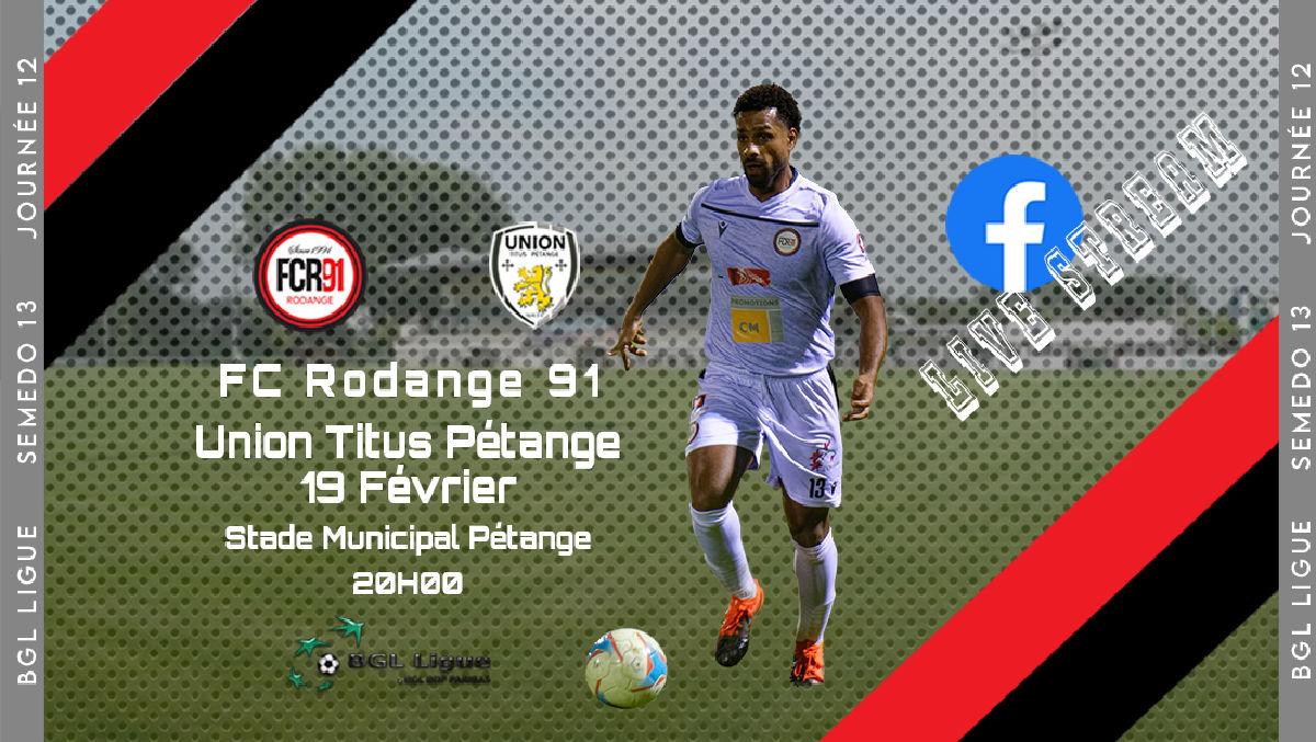 FC Rodange 91 - Union Titus Pétange