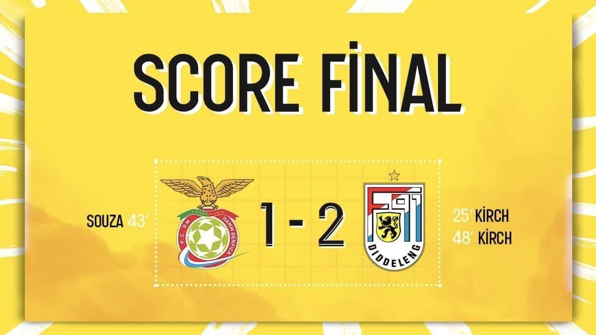 RM Hamm Benfica - F91 Diddeleng
