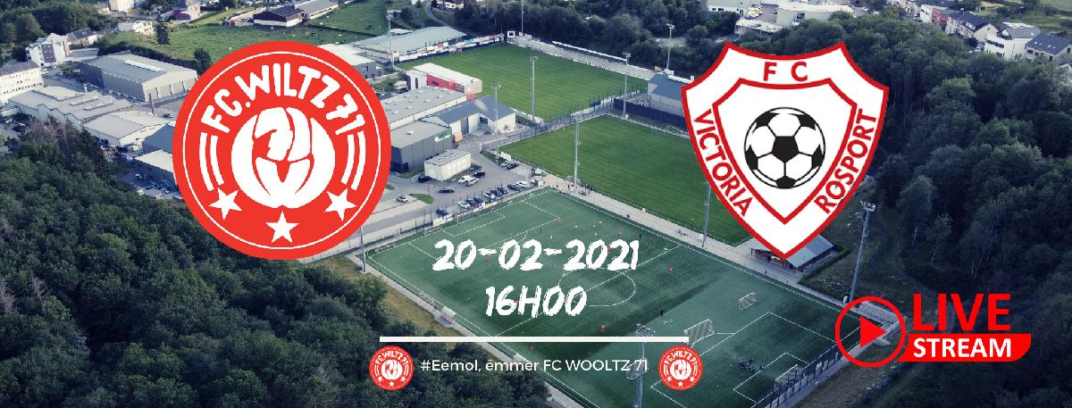 It's GAME TIME! FC WILTZ 71 gegen FC VICTORIA ROSPORT