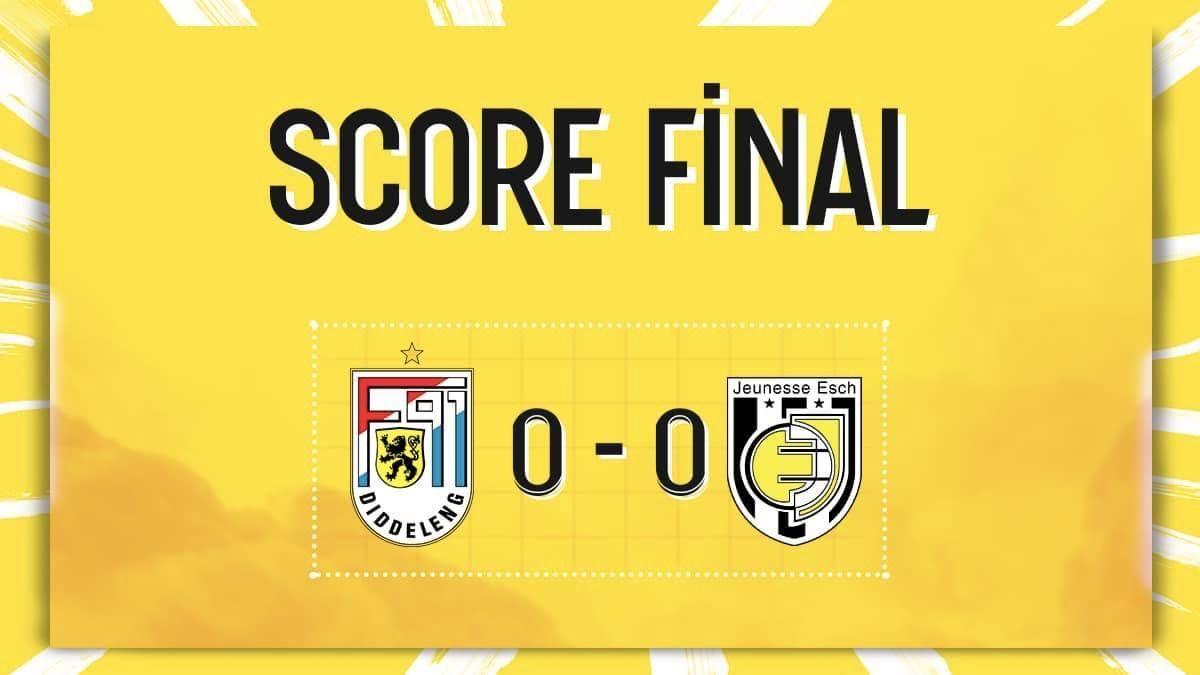 F91 Diddeleng - Jeunesse Esch 0-0