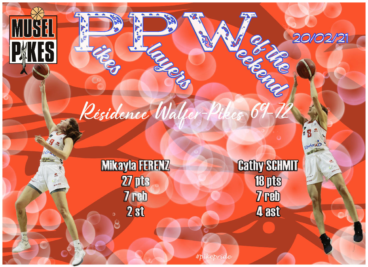 PPW-Pikes players of the weekend