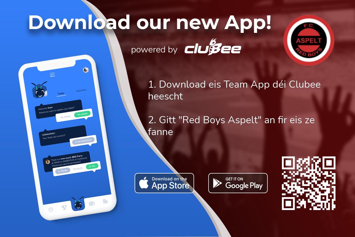 Red Boys Uespelt App