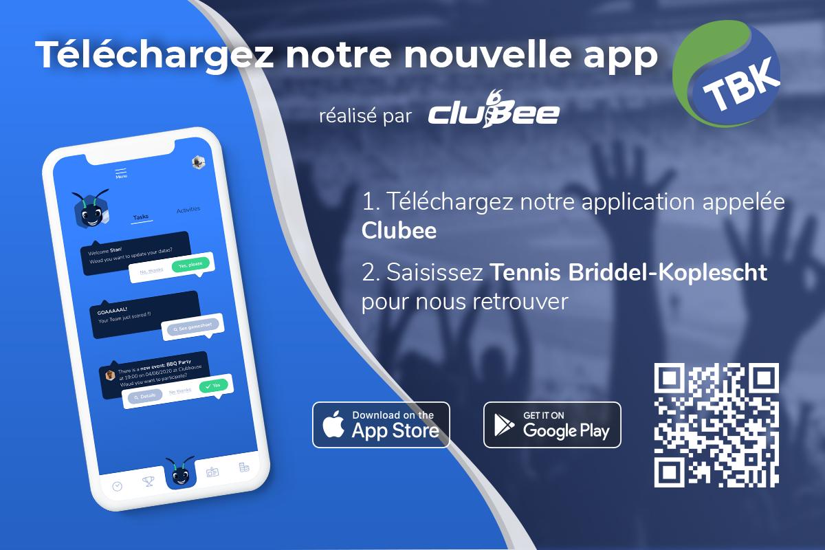 Application Smartphone TBK