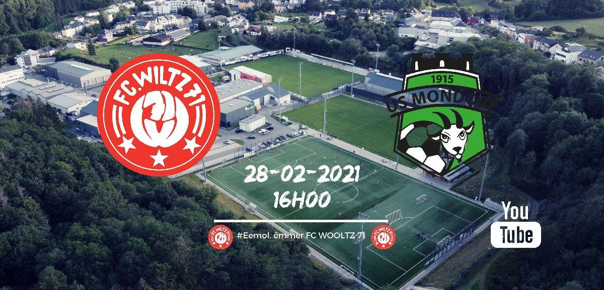 FC WILTZ 71 VS US MONDORF (LIVE AUF YOUTUBE)