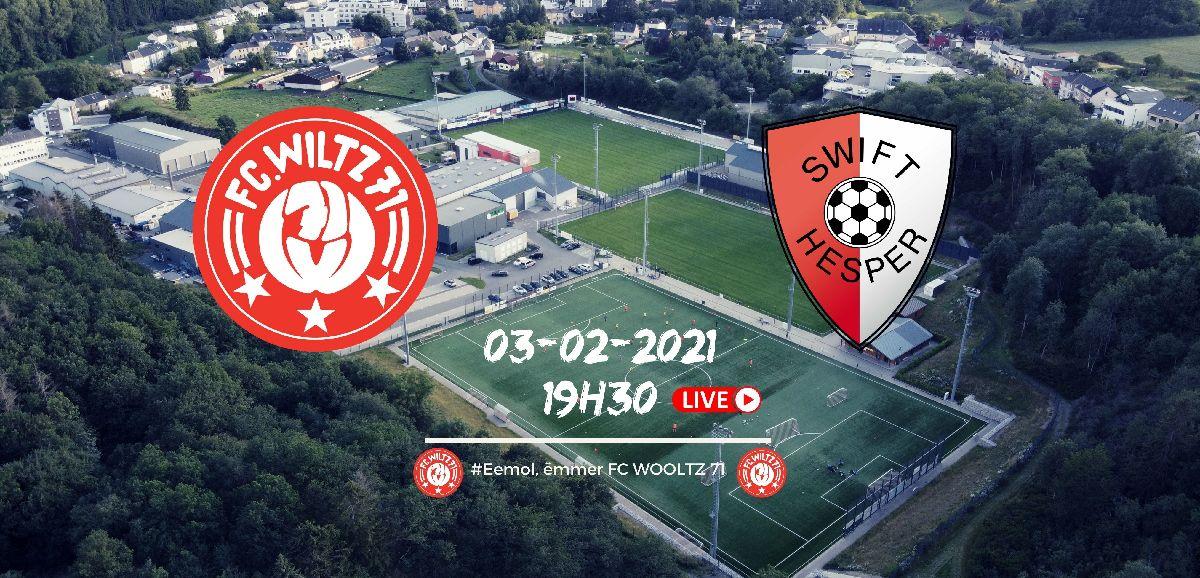 FC WILTZ 71 VS SWIFT HESPER